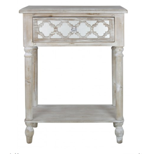 Hampton Beach One Drawer End Table