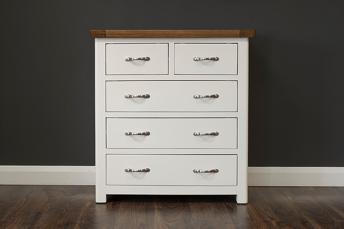 Manahattan Cream Oak 6 Drawer