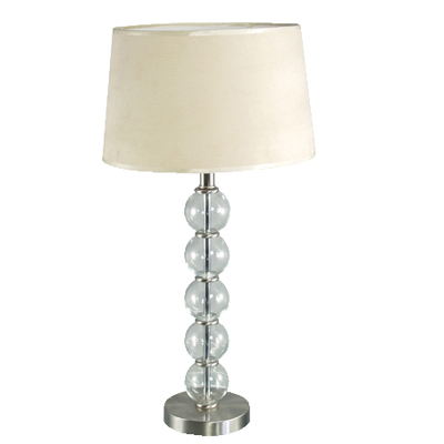 5 Ball Lamp with Wide Shade