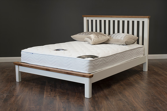 Manhattan Cream Oak Bedframe