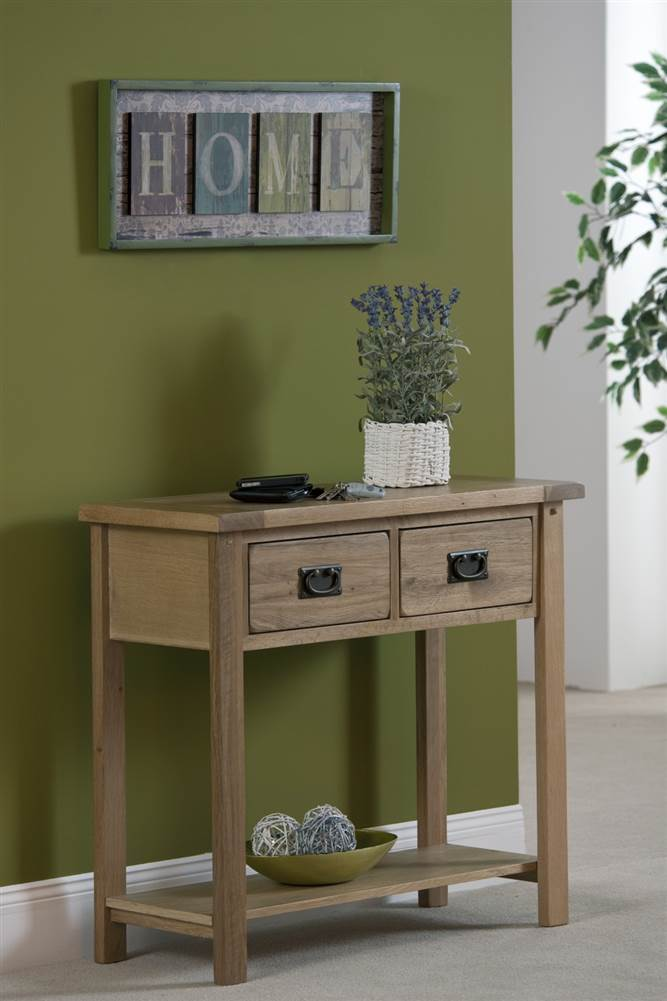 Cabos 2 Drawer Hall Console table