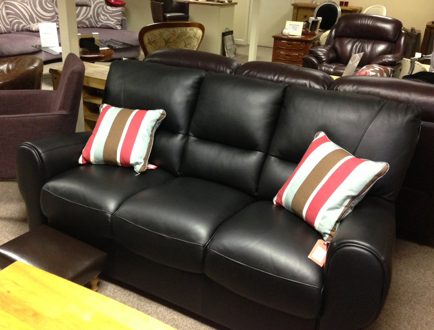 Agave 3 seater Italian Leather